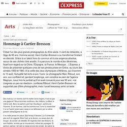 Hommage à Cartier-Bresson