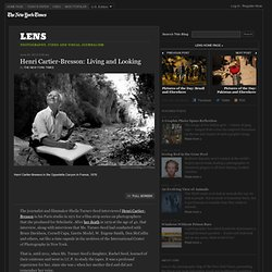 Henri Cartier-Bresson: Living and Looking