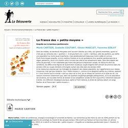 La France des « petits-moyens » - Marie CARTIER, Isabelle COUTANT, Olivier MASCLET, Yasmine SIBLOT