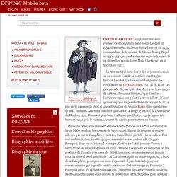 CARTIER, JACQUES (1491-1557)