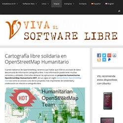 Cartografía libre solidaria en OpenStreetMap Humanitario