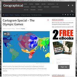 Cartogram Special – The Olympic Games