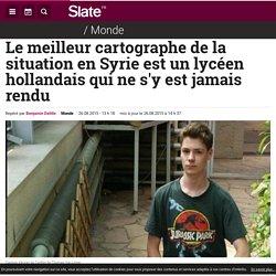 Le meilleur cartographe de la situation en Syrie est un lycéen hollandais qui ne s'y est jamais rendu