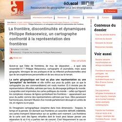 Philippe Rekacewicz, un cartographe confronté à la représentation des frontières