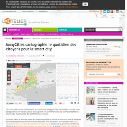ManyCities cartographie le quotidien des citoyens pour la smart city
