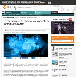 La cartographie de l'innovation mondiale en constante évolution