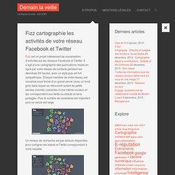 Fizz cartographie les activités de votre réseau Facebook et Twitter