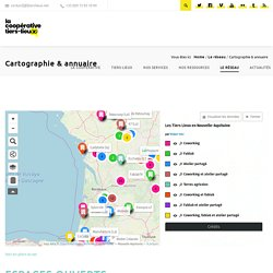 Cartographie & annuaire