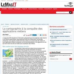 La cartographie à la conquête des applications métiers