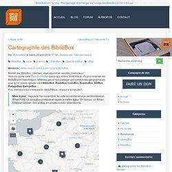 Cartographie des BiblioBox - BiblioBox - Le blog de l'actualité des Bibliobox & PirateBox