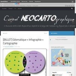 [BILLET] Géomatique + Infographie = Cartographie – Carnet (neo)cartographique