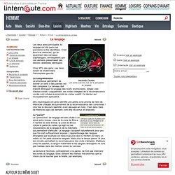 La cartographie du cerveau : Le langage