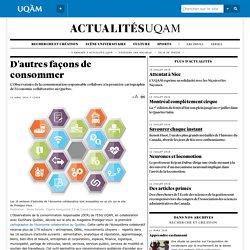 Première cartographie de l'économie collaborative au Québec