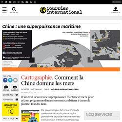 Cartographie. Comment la Chine domine les mers