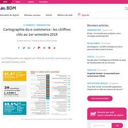 Cartographie du e-commerce : les chiffres clés au 1er semestre 2019