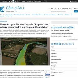 Une cartographie du cours de l'Argens pour mieux comprendre les risques d'inondation - France 3 Côte d'Azur
