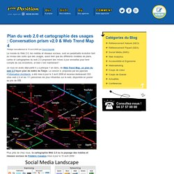 Plan du web 2.0 et cartographie des usages : Conversation prism v2.0 & Web Trend Map 4