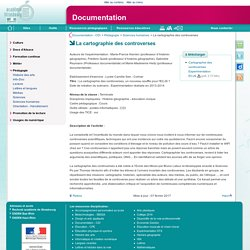 La cartographie des controverses - Documentation