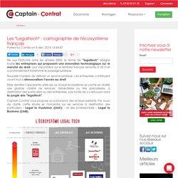 """Les """"Legaltech"""" : cartographie de l'écosystème français"""