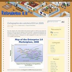 Cartographie des solutions E2.0 en 2009 > Entreprise 2.0