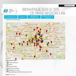 Cartographie des expérimentations - Paris Région Lab