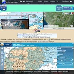 CARTOGRAPHIE en voilier : comment utiliser , corriger , fabriquer , imprimer des cartes marines Partie 1