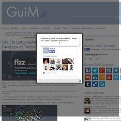 Fizz : la cartographie de votre réseau Facebook et Twitter