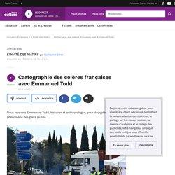 Cartographie des colères françaises avec Emmanuel Todd
