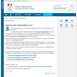 Concours de cartographie en 4e-Histoire-géographie-Éduscol