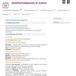 CartoGraphie ton Quartier - GeoPhotoGraphie & Carto