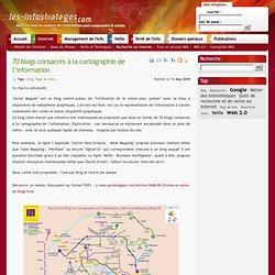 70 blogs consacrés à la cartographie de l'information