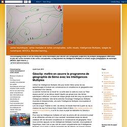 Géoclip: mettre en oeuvre le programme de géographie de 6ème avec les Intelligences Multiples