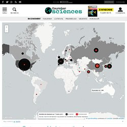 Cartographie interactive. Les chantiers nucléaires prolifèrent à l'Est