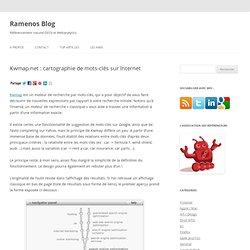 Kwmap.net : cartographie de mots-clés sur Internet