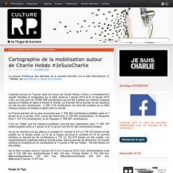 Cartographie de la mobilisation autour de Charlie Hebdo #JeSuisCharlie - Culture-rp.com