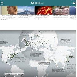 Cartographie : le paysage mondial des réacteurs nucléaires