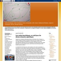 Les cartes heuristiques, un outil pour les élèves à besoins spécifiques