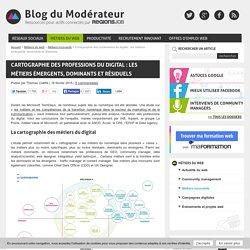 Cartographie des professions du digital : les métiers émergents, dominants et résiduels