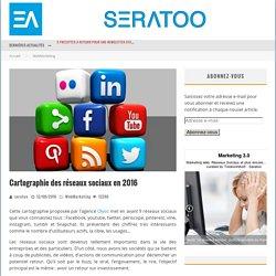 Cartographie des réseaux sociaux en 2016 – Seratoo – Marketing 3.0