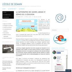 La Cartographie des Savoirs, mirage et dérives de l'e-éducation