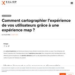 Cartographie de l'expérience utilisateur via des experience maps