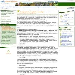 Cartographie de la végétation du collège- HANANIA Quentin