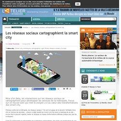 Les réseaux sociaux cartographient la smart city