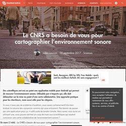 Le CNRS a besoin de vous pour cartographier l'environnement sonore - Sciences