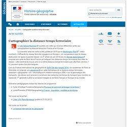Cartographier la distance-temps ferroviaire-Histoire-géographie-Éduscol