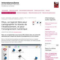 Filius, un logiciel libre pour cartographier le réseau de l'établissement, et (...) - IntendanceZone