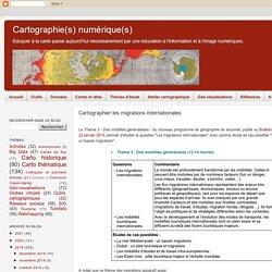 Cartographier les migrations internationales