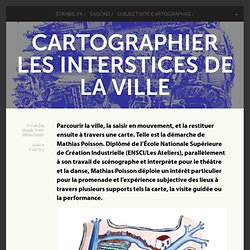 Cartographier les interstices de la ville