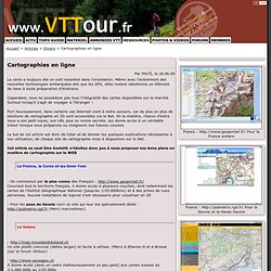 Cartographies en ligne