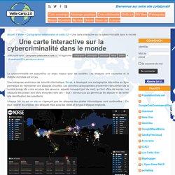 Une carte interactive sur la cybercriminalité dans le monde